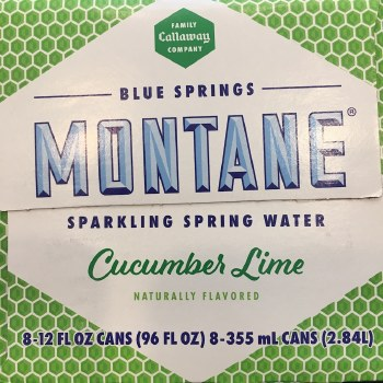 Cucumber Lime Sparkling Water 8pack