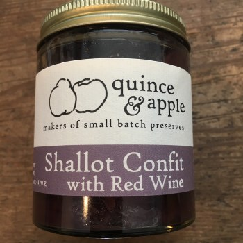 Shallot Confit with Red Wine