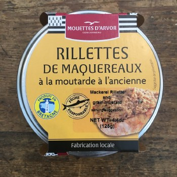 Mackerel Rillettes with Grain Mustard