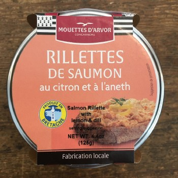 Salmon Rillettes with Lemon and Dill