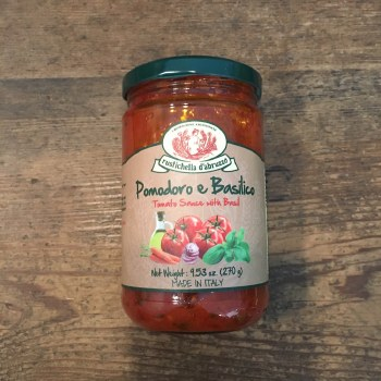 Pomodoro e Basilico (Tomato Sauce with Basil)