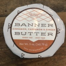 Cultured Butter w/ Cinnamon Ginger