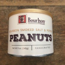 Bourbon Smoked Salt & Pepper Peanuts