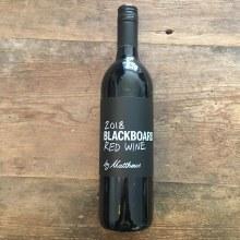 Blackboard Red Wine