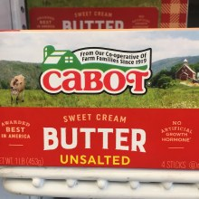 Cabot Unsalted Butter
