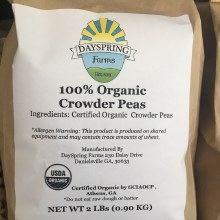 Organic Crowder Peas