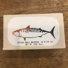 Spiced Small Mackerel