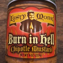 Burn in Hell Chipotle Mustard