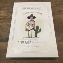 Oaxaca (Chocolate, Cinnamon, and Cayenne Shortbread Cookies)