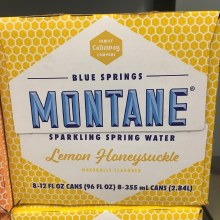 Lemon Honeysuckle Sparkling Water 8pk