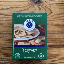 Rosemary Gluten Free Crackers