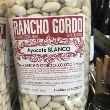 Ayocote Blanco Beans