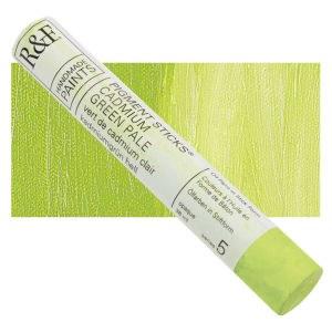Pigment Sticks, 38ml, Cadmium Green Pale