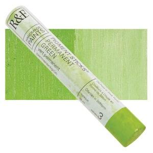 Pigment Sticks, 38ml, Permanent Green