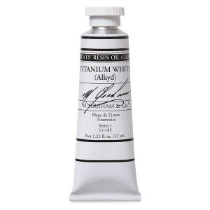 M. Graham Oil, Titanium White RD, 37ml
