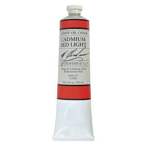 M. Graham Oil, Cadmium Red Lt, 150ml