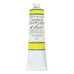 M. Graham Oil, Cadmium Yellow Lt, 150ml