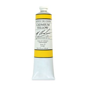 M. Graham Oil, Cadmium Yellow, 150ml