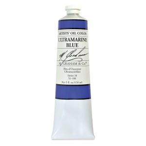 M. Graham Oil, Ultramarine Blue, 150ml