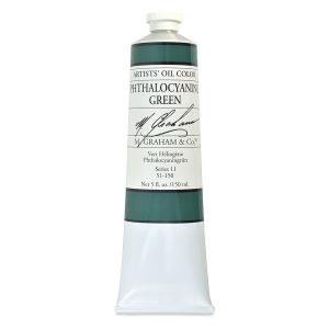 M. Graham Oil, Phthalo Green, 150ml