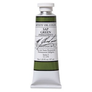 M. Graham Oil, Sap Green Permanent, 37ml