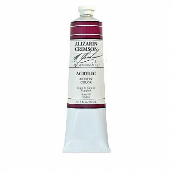 M. Graham Acrylic Alizarin Crimson 150ml