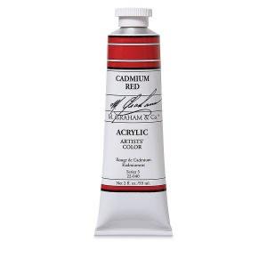 M. Graham Acrylic Cad Red 150ml