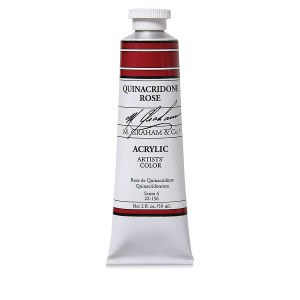 M. Graham Acrylic Quinacridone Rose 150ml