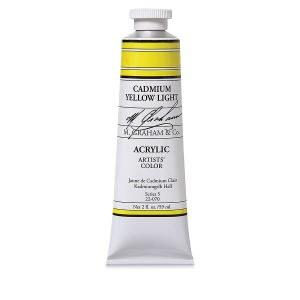 M. Graham Acrylic Cad Yellow Lt 150ml