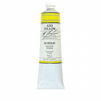 M. Graham Acrylic Azo Yellow 150ml