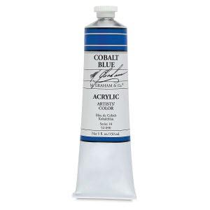 M. Graham Acrylic Cobalt Blue 150ml
