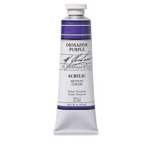 M. Graham Acrylic Dioxazine Purple 150ml