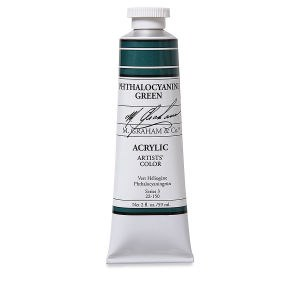 M. Graham Acrylic Phthalo Green 150ml