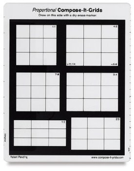 Proportional Compose-It Grids