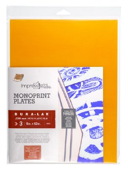 Dura-Lar Monoprint Plate Packs, 12 in. x 16 in. - 3/Pkg.