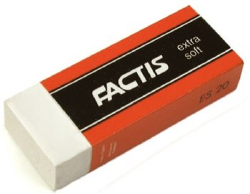 Factic White Eraser