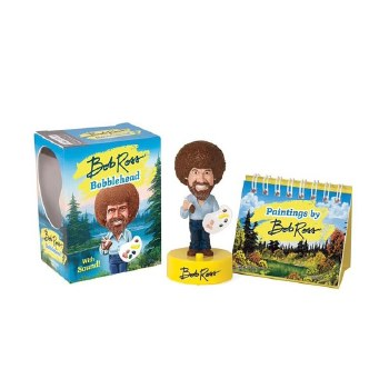 Bob Ross Bobblehead Mini Edition, Bob Ross Bobblehead