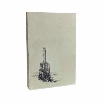 Pocket Sketchbook, 3.75 x 5.25, Seagull