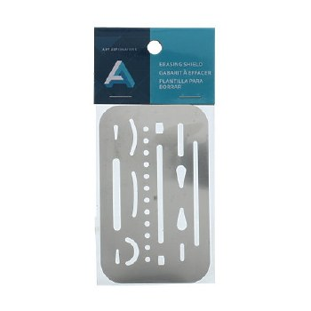 Erasing Shield, Stainless Steel 2-3/8 in. x 3-5/8 in.