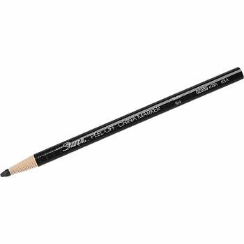 China Markers, Single Pencils, Black