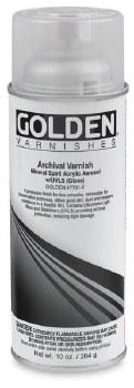 Archival Varnish Spray, Satin - 10 oz. Spray Can