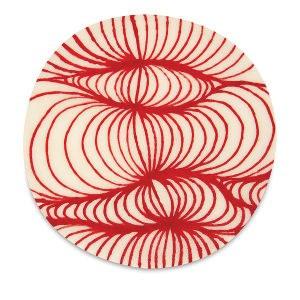 Designer Liner, Red, for clay,bisque or over glazes