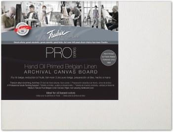 Fredrix Pro Oil Primed Belgian Linen Panel, 9x12