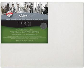 Fredrix Pro Belgian Linen Canvas Panel, 11x14
