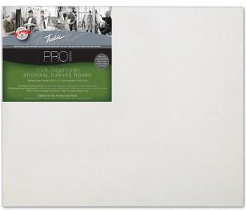 Fredrix Pro Belgian Linen Canvas Panel, 16x20