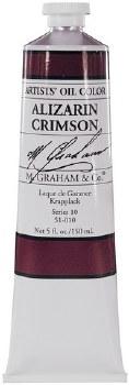 M. Graham Oil, Alizarin Crimson, 150ml