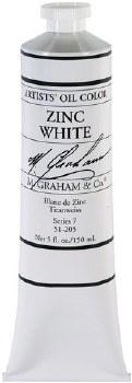 M. Graham Oil, Zinc White, 150ml