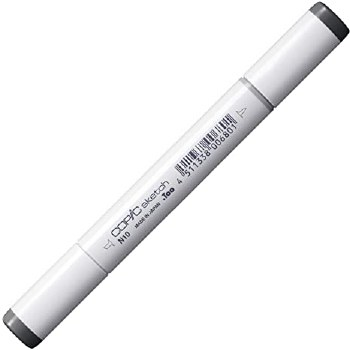COPIC Sketch Markers, Neutral Gray No. 10