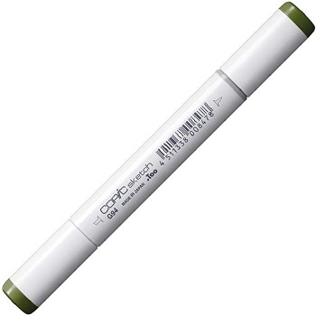 COPIC Sketch Markers, Grayish Olive