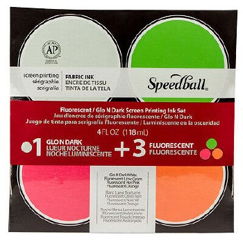 Fluorescent Print 4 Ink Set